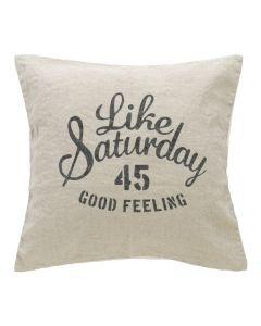 Like Saturday クッションカバー 45×45 リネン