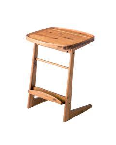 フチが高くなっているのでテーブルの上でこぼしても安心
