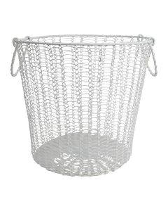 I-LINK ワイヤーバスケット L ホワイト