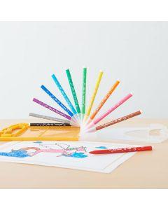カラーペン レインボーケース12色 BIC KIDS