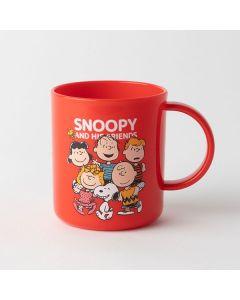 スヌーピー プラスチックマグカップ FRIENDS
