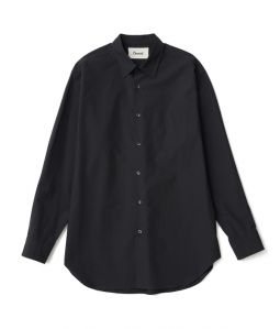 Regular color shirt 01 /2 /Black /Ōnnod