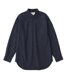 Regular color shirt 01 /2 /Navy /Ōnnod