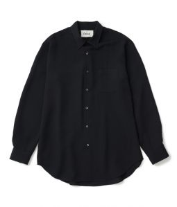 Regular color shirt 02 /3 /Black /Ōnnod