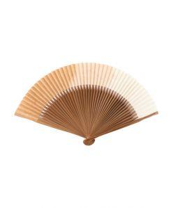 和紙草木染扇子 / 銅媒染 /  7寸5分