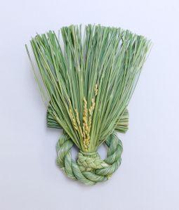 稲わら飾り 多福かぶ