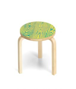 Stool 60 ColoRing / Green×Yellow