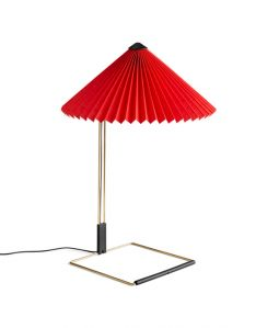 MATIN TABLE LAMP  / Bright Red