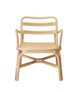 SR lounge chair arm Natural /TOU