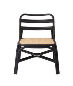 SR lounge chair Black /TOU