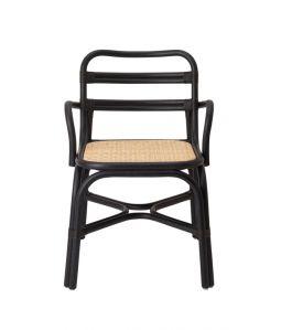 SR side chair arm Black /TOU