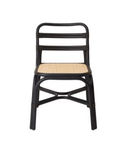 SR side chair Black /TOU
