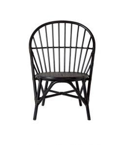 WR side chair Black /TOU