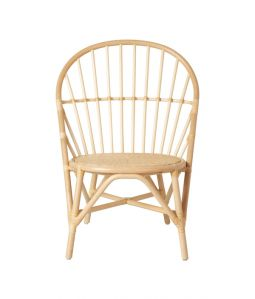 WR side chair Natural /TOU