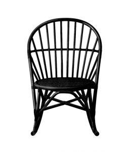 WR rocking chair Black /TOU