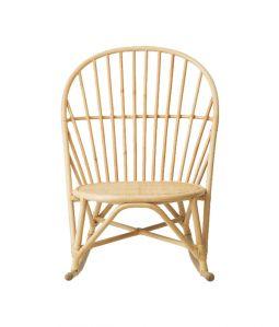WR lounge rocking chair Natural /TOU
