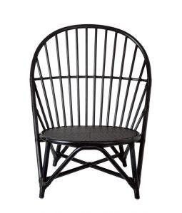 WR lounge chair Black /TOU