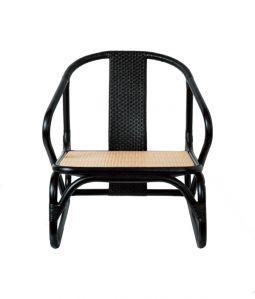 MR lounge chair Black /TOU