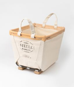 Steele canvas basket/スクエア