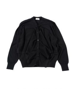 LEMAIRE Cardigan sweater / Black / S