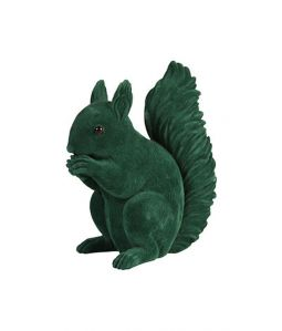 Coinbank squirrel green flock