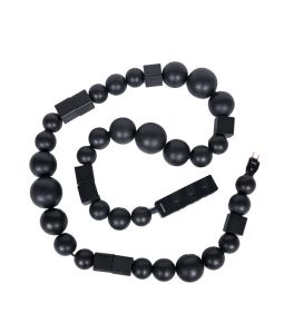 Cable jewelry multi plug<Black&Black>