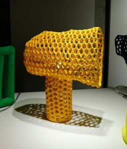 【DESIGNART TOKYO 2021】structure of sessile YELLOW /寺山紀彦