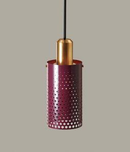 Bullet dot shade / Burgundy