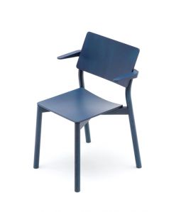 PANORAMA ARMCHAIR/INDIGO BLUE