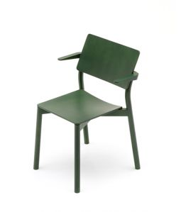 PANORAMA ARMCHAIR/MOSS GREEN