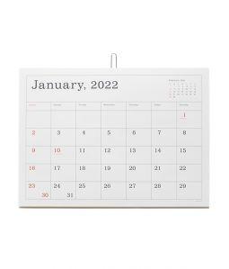 2022 CALENDAR/罫線あり