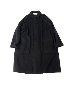 BALMACAAN COAT / BLACK