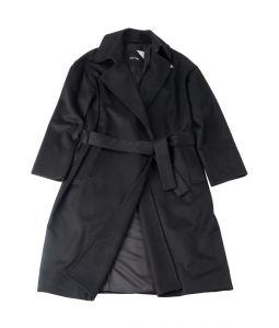 LODEN COAT / BLACK