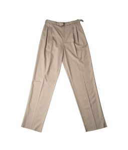 BELTED PLEAT PANTS  / LEMAIRE