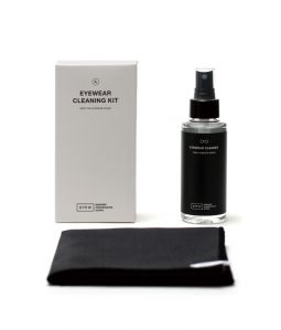 EYEWEAR CLEANING KIT <LARGE> / Black