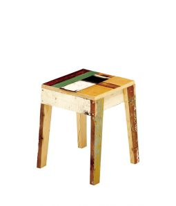 SCRAPWOOD STOOL