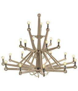 CHANDELIER IN PLYWOOD