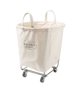 STEELE CANVAS BASKET CASTER