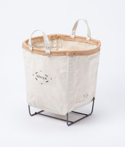 Steele canvas basket/ラウンド