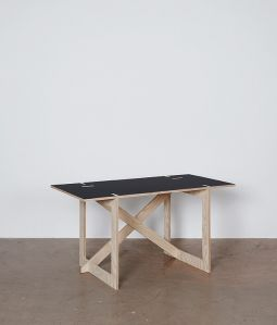 con.temporary furniture HOME DESK(筋交い壁寄り)/CHARCOAL