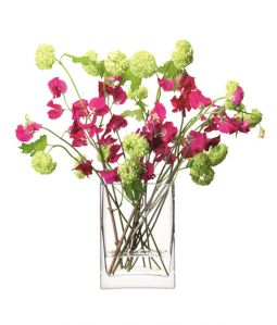 FLOWER Rectangular Bunch Vase