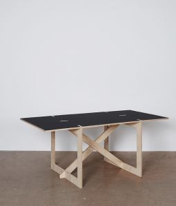 con.temporary furniture WORK DESK(アーキタイプ6点接合)/CORNFLOWER