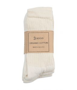 ORGANIC COTTON SOCKS 3P/ANATOMICA(アナトミカ)