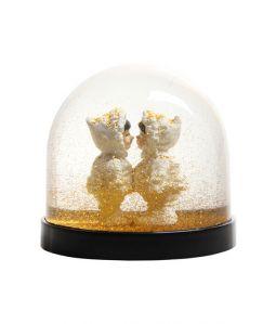 Wonder Ball eskimo's gold glitter