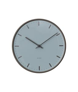 Wall Clock City Hall Royal Blue 290mm