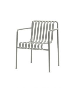 PALISSADE DINING ARM CHAIR/ライトグレー