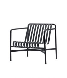 【送料無料】PALISSADE LOUNGE CHAIR LOW/ブラック