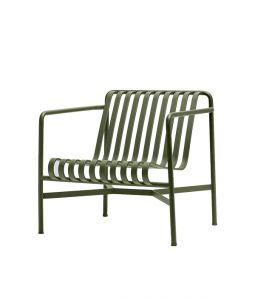 【送料無料】PALISSADE LOUNGE CHAIR LOW/オリーブ
