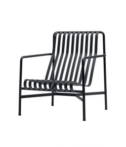 【送料無料】PALISSADE LOUNGE CHAIR HIGH/ブラック