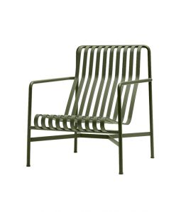 【送料無料】PALISSADE LOUNGE CHAIR HIGH/オリーブ